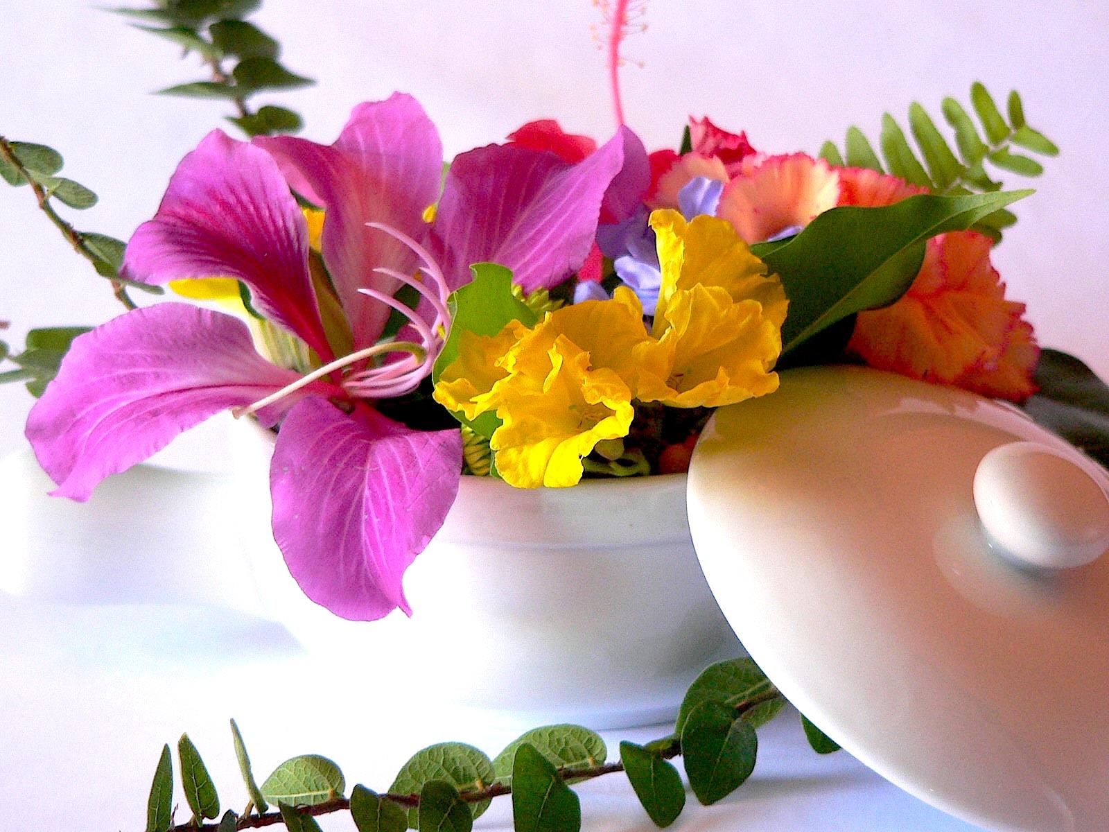 Cocinar con flores un jard n para los sentidos - Flores para cocinar ...