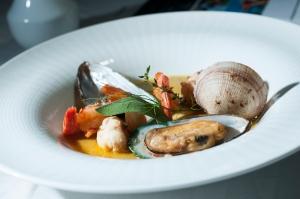Barcelo Sancocho de mariscos con curry caribeño