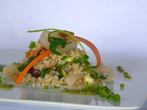 Quinoa hortalizas