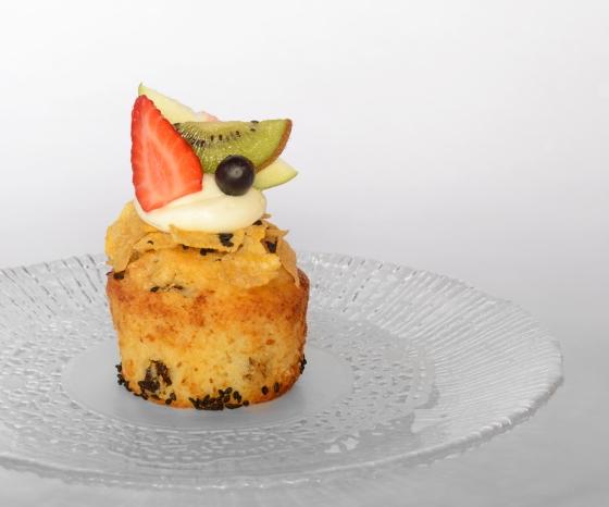 Cupcake de Semillas y Frutos Secos