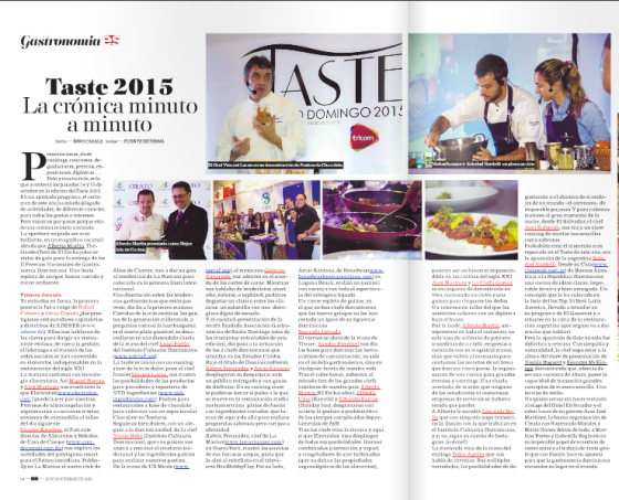 Taste Cronica, nov 2015 copia