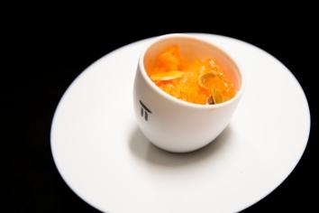 001-FR_Pierre Gagnaire Restaurant-granitécarottepamplemousse