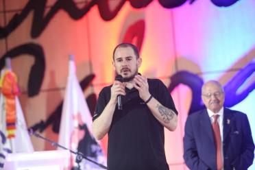 12 El chef Julio Velandrino en el acto inaugural del FGD2019
