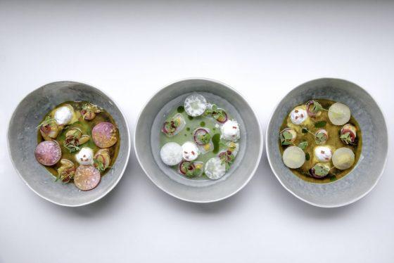 13 Ceviche de pesca blanca con frutos